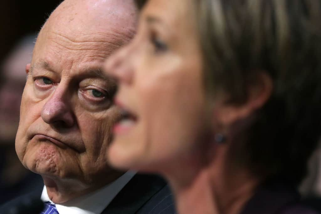James Clapper: Obama Ordered Us to Start the Witch Hunt