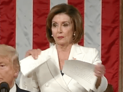 Nancy Pelosi Rips SOTU