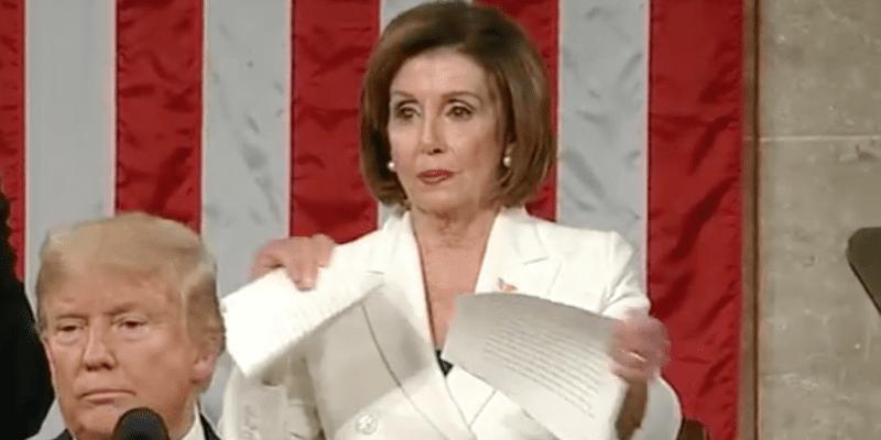 Nancy Pelosi Rips SOTU