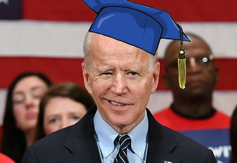 Biden the professor