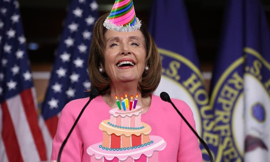 Nancy Pelosi Birthday