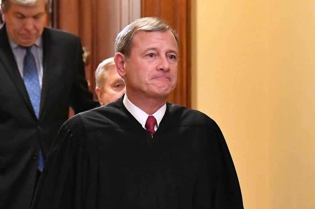 US Supreme Court Chief Justice John Roberts