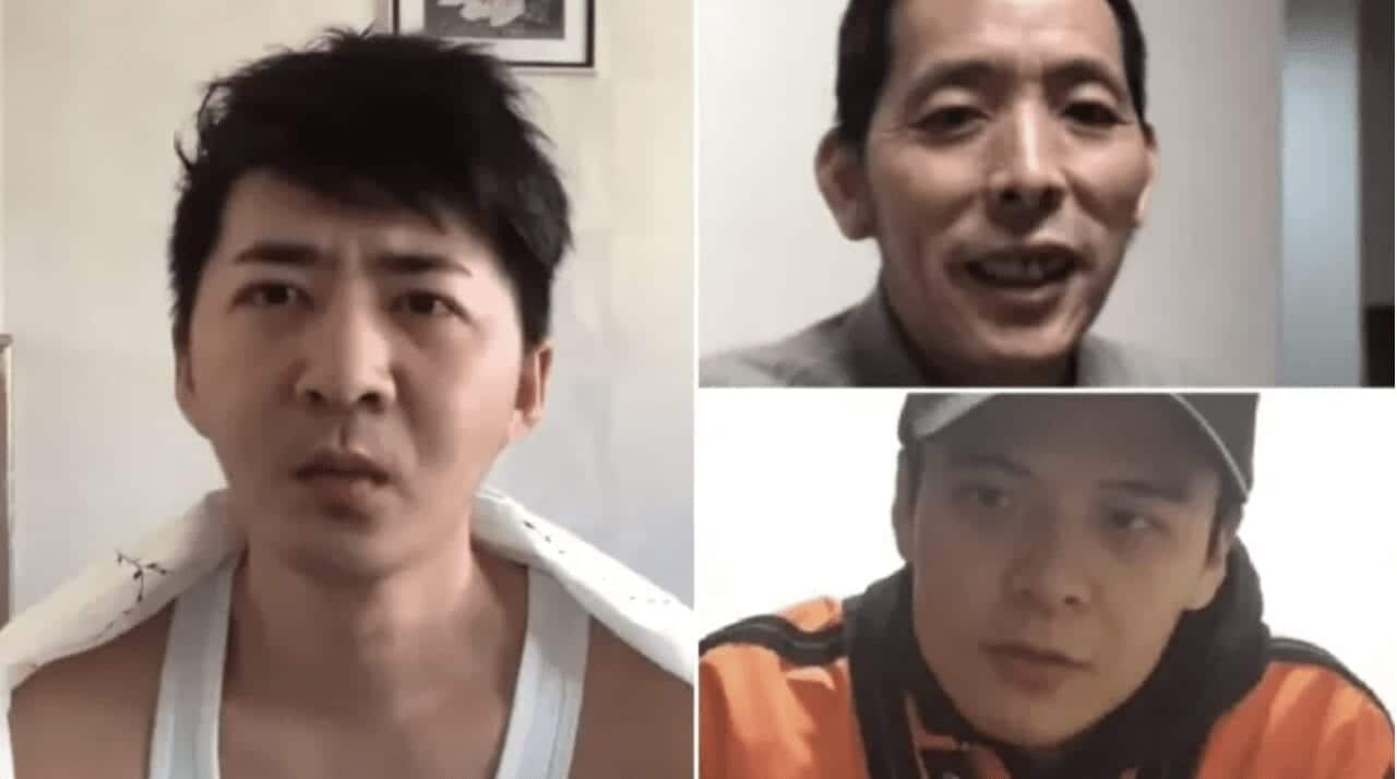 Chen Qiushi (left), Fang Bin (top right) and Li Zehua (bottom right) have not been seen for two months