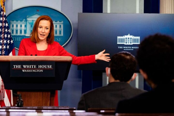 White House Press Secretary Jen Psaki