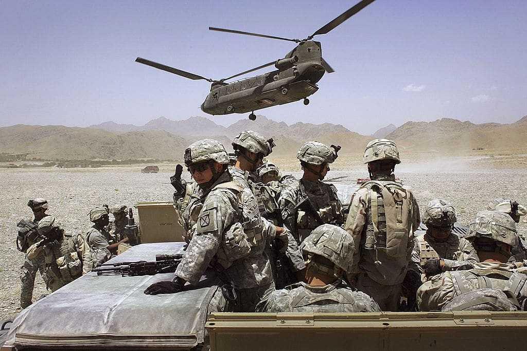 U.S. Forces In Afghanistan