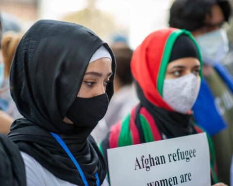 Afghanistan refugee